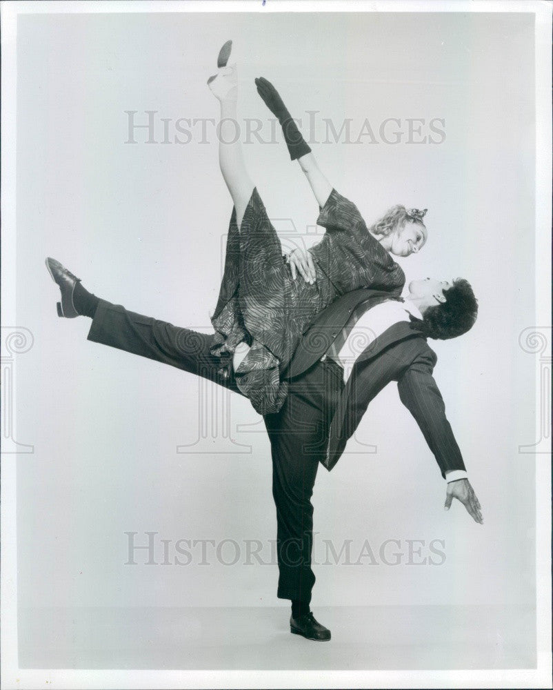1989 Gus Giordano Jazz Dance Chicago Press Photo - Historic Images