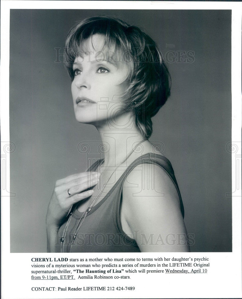 1996 Hollywood Actress & Movie Star Cherly Ladd The Haunting of Lisa Press Photo - Historic Images