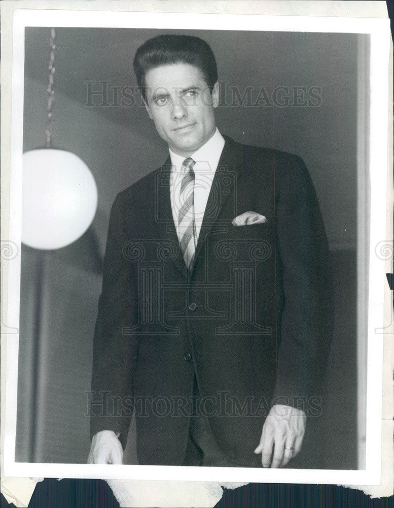 1966 American Hollywood Actor/Singer/Comedian Ken Delo Press Photo - Historic Images