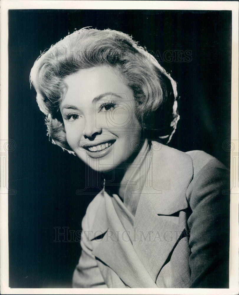 1972 Hollywood American Actress Audrey Meadows Press Photo - Historic Images