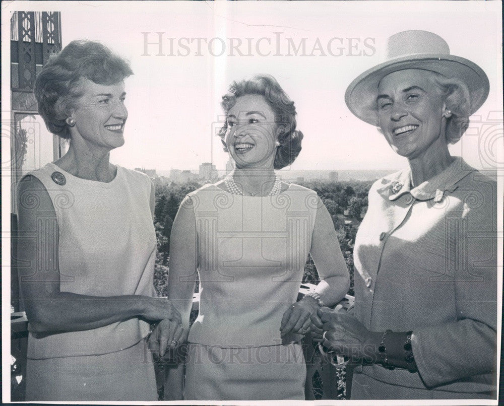1963 Hollywood American Actress Audrey Meadows Press Photo - Historic Images