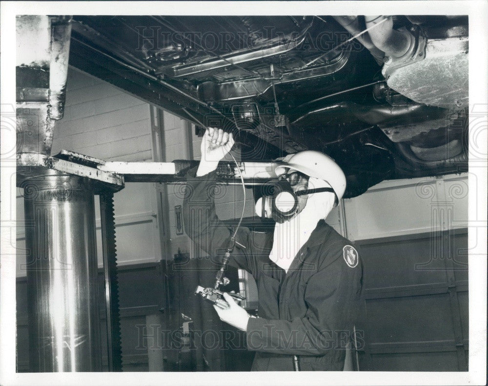 1982 Detroit, Michigan Ziebart Automobile Rust Proofing Press Photo - Historic Images