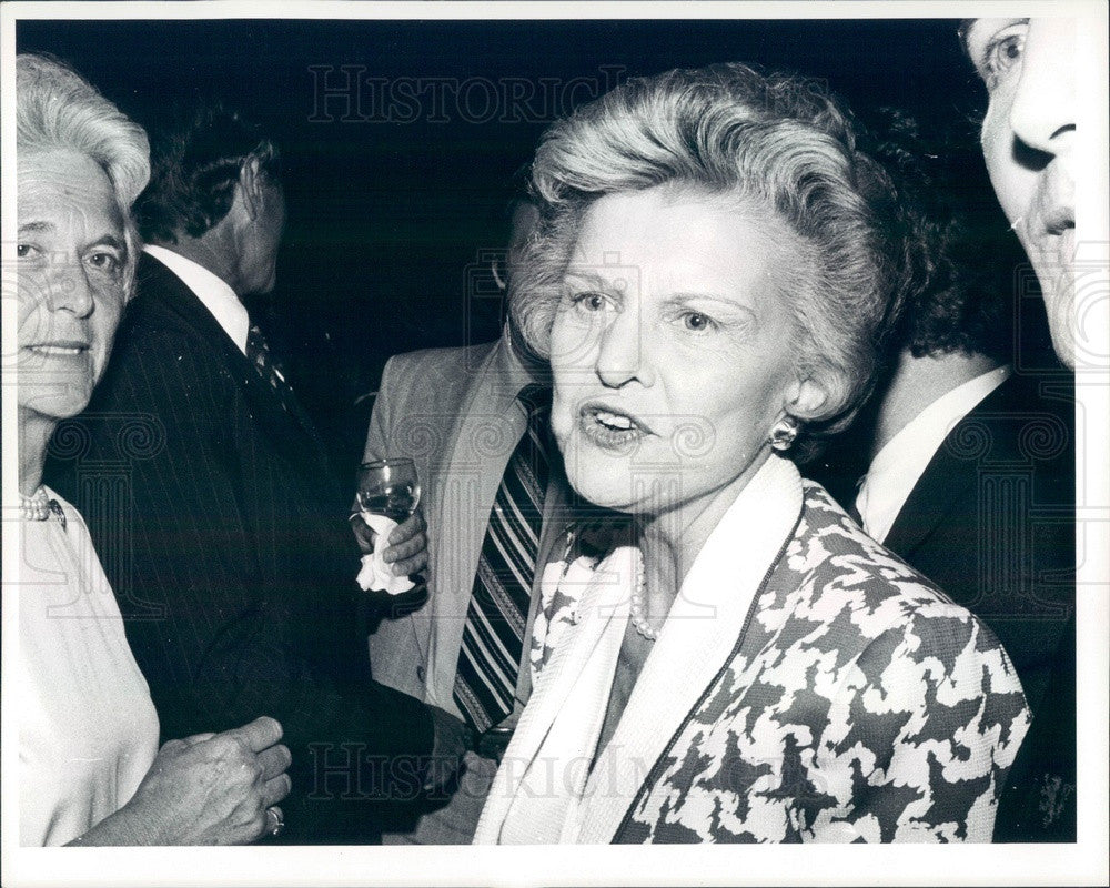 1980 US First Lady Betty Ford Press Photo - Historic Images
