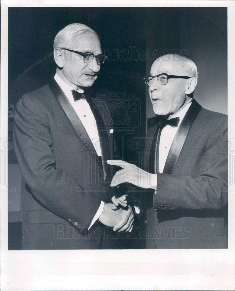 1965 Detroit, MI Dr. Albert Sabin, Oral Polio Vaccine Developer Press Photo - Historic Images