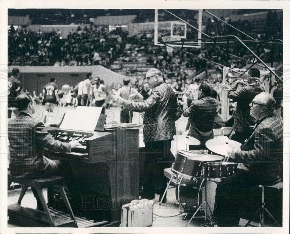 1967 Detroit, Michigan Frank Sidney's Band Press Photo - Historic Images