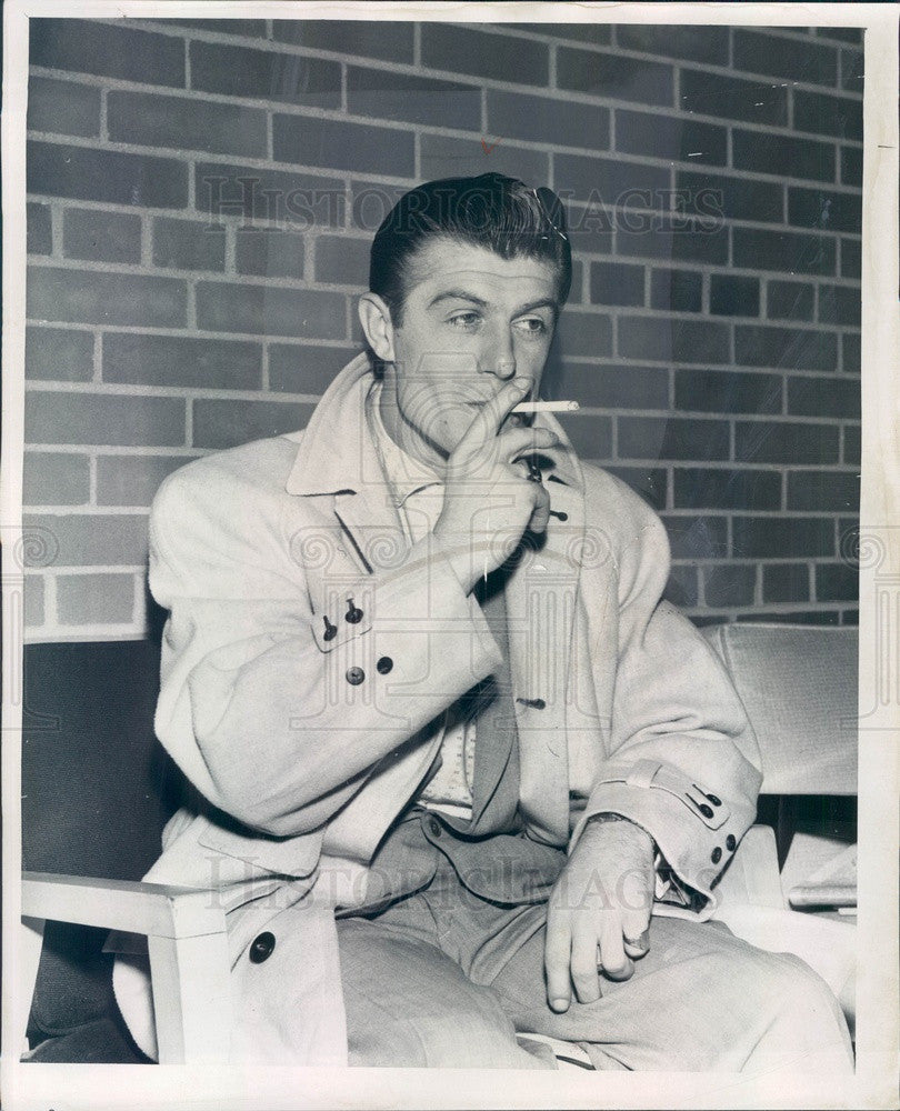 1959 Detroit, Michigan Disk Jockey Rick Michaels Press Photo - Historic Images