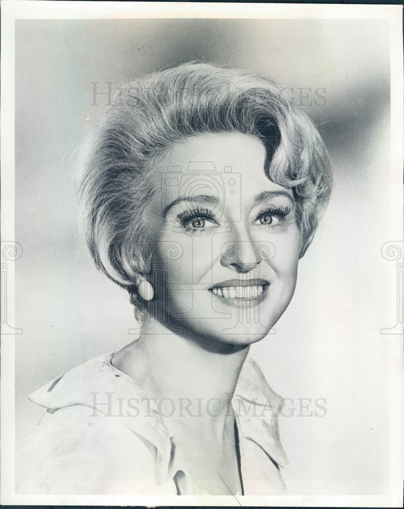 1968 Oscar Winning Actress Celeste Holm Press Photo - Historic Images