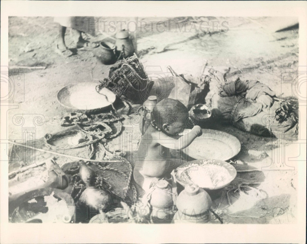 1936 Somalia Hungry Youngster Press Photo - Historic Images