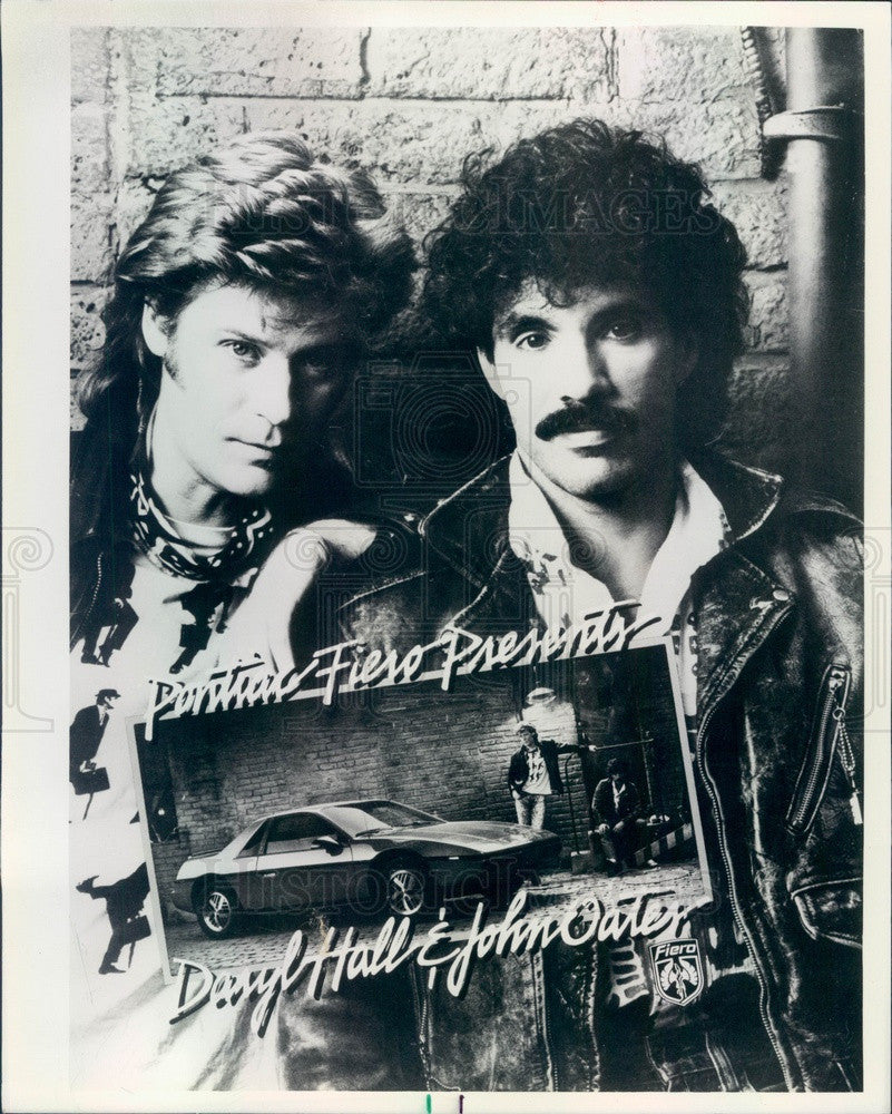 1984 Musicians Daryl Hall & John Oates Press Photo - Historic Images