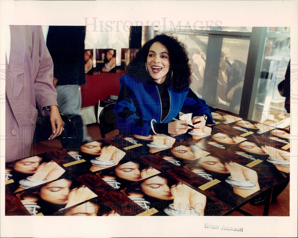 1990 Actress & Singer Jasmine Guy Press Photo - Historic Images