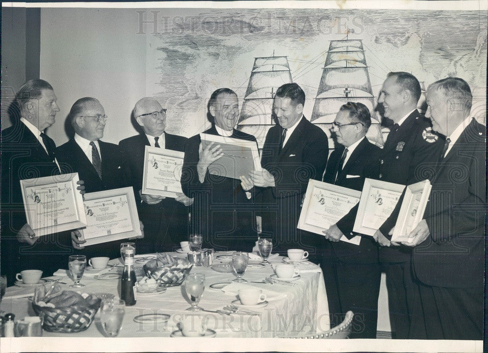 1963 Chicago, Illinois Leadership Awards Winners Press Photo - Historic Images