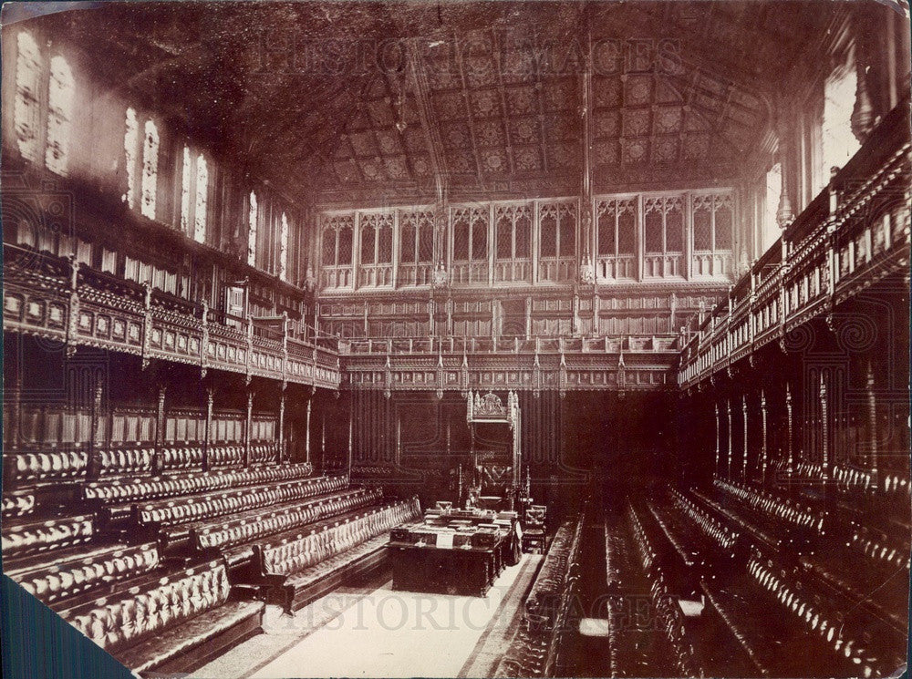 Undated London, England House of Parliament, House of Commons Press Photo - Historic Images