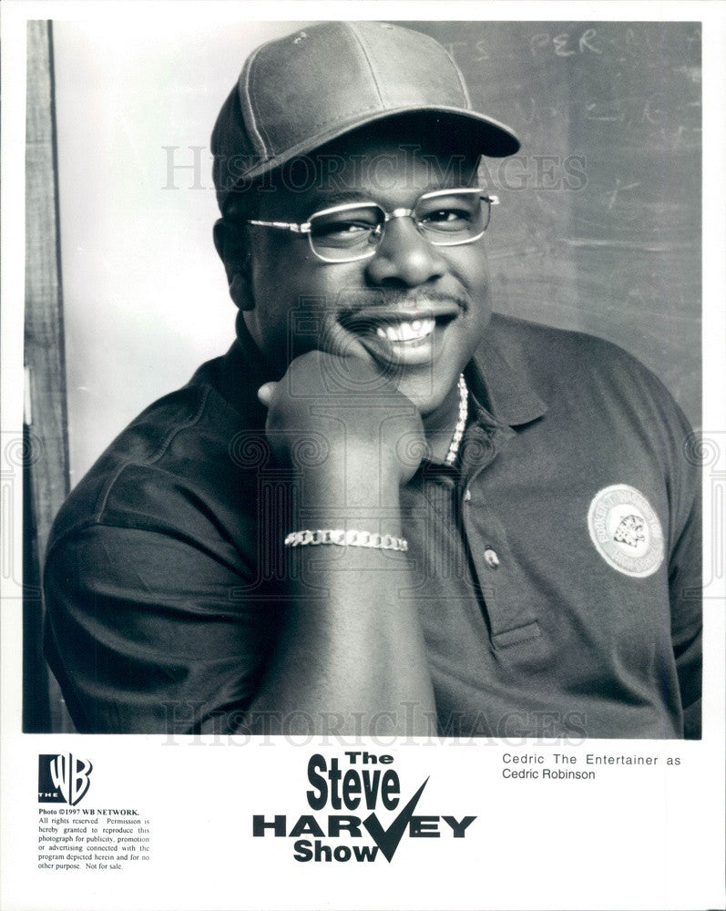 1996 Actor Cedric James on The Steve Harvey Show Press Photo - Historic Images