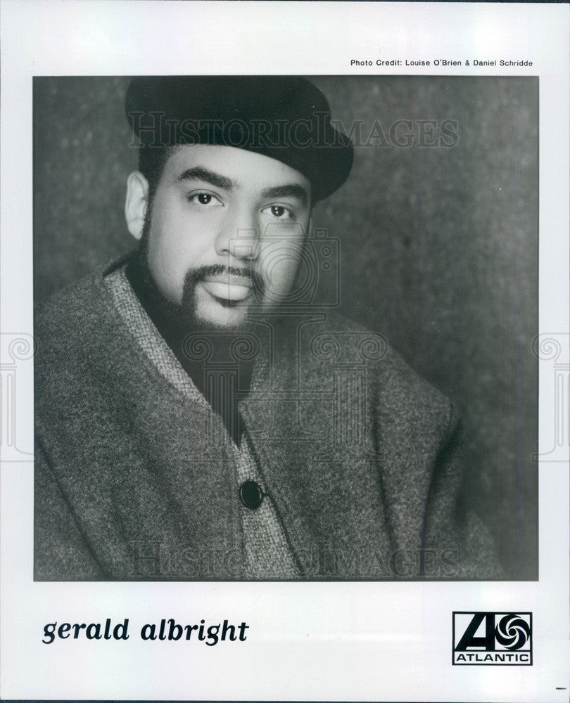 1994 American Jazz Saxophonist Gerald Albright Press Photo - Historic Images