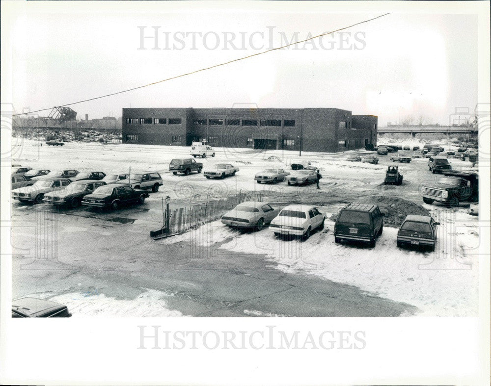 1988 Chicago, Illinois South Loop School Press Photo - Historic Images