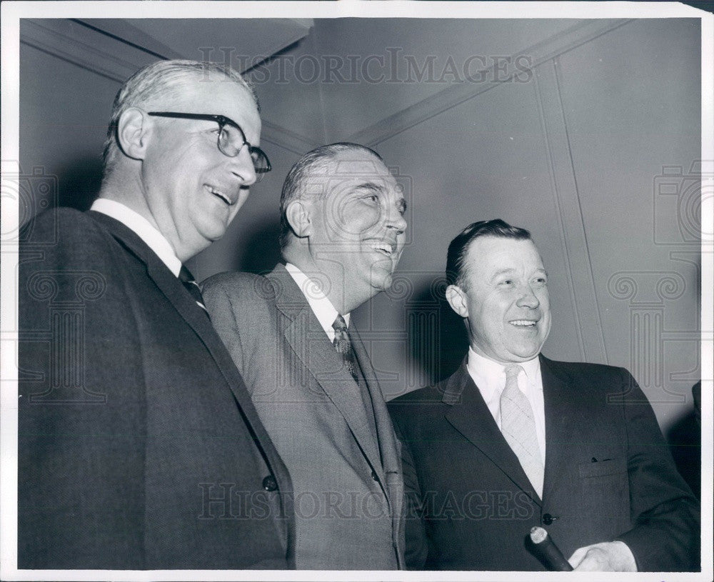 1957 Detroit, Michigan Chrysler President LL Colbert Press Photo - Historic Images