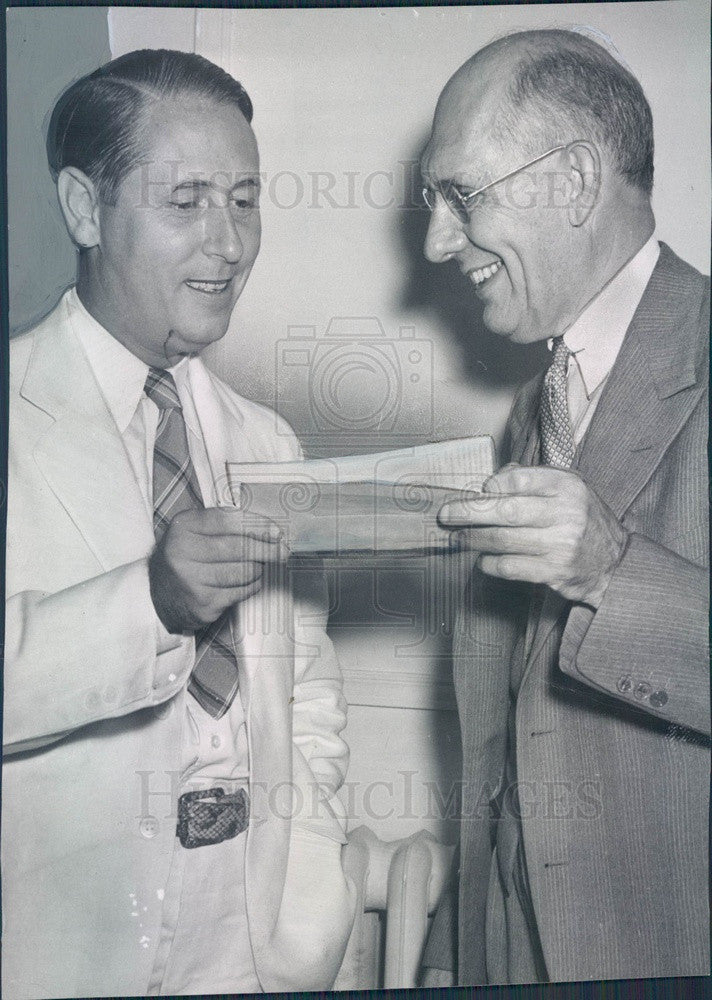 1941 Inventor, GM Exec, Delco Founder Dr. Charles Kettering Press Photo - Historic Images