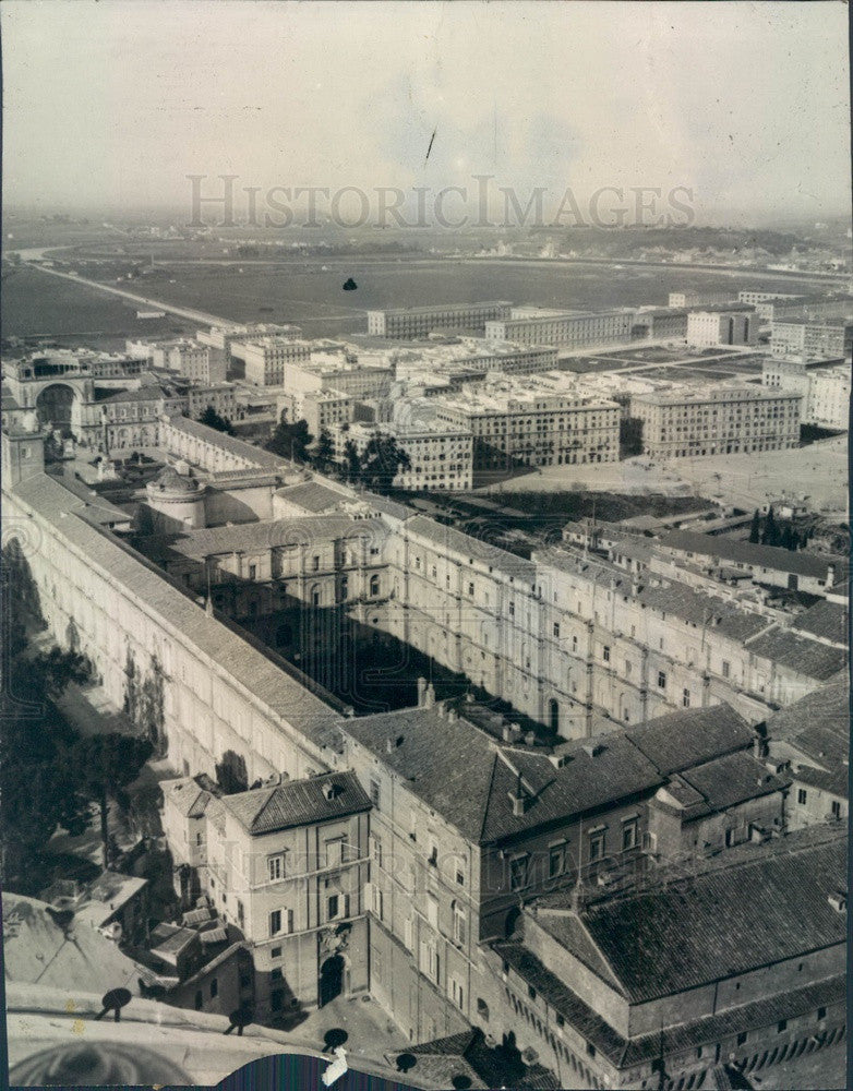 Undated Italy, Vatican City Aerial View Press Photo - Historic Images