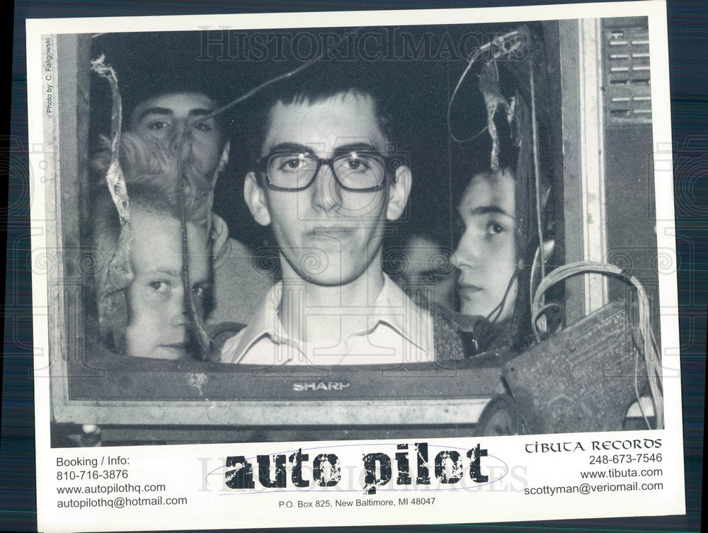 Undated American Alternative Rock Band Auto Pilot Press Photo - Historic Images