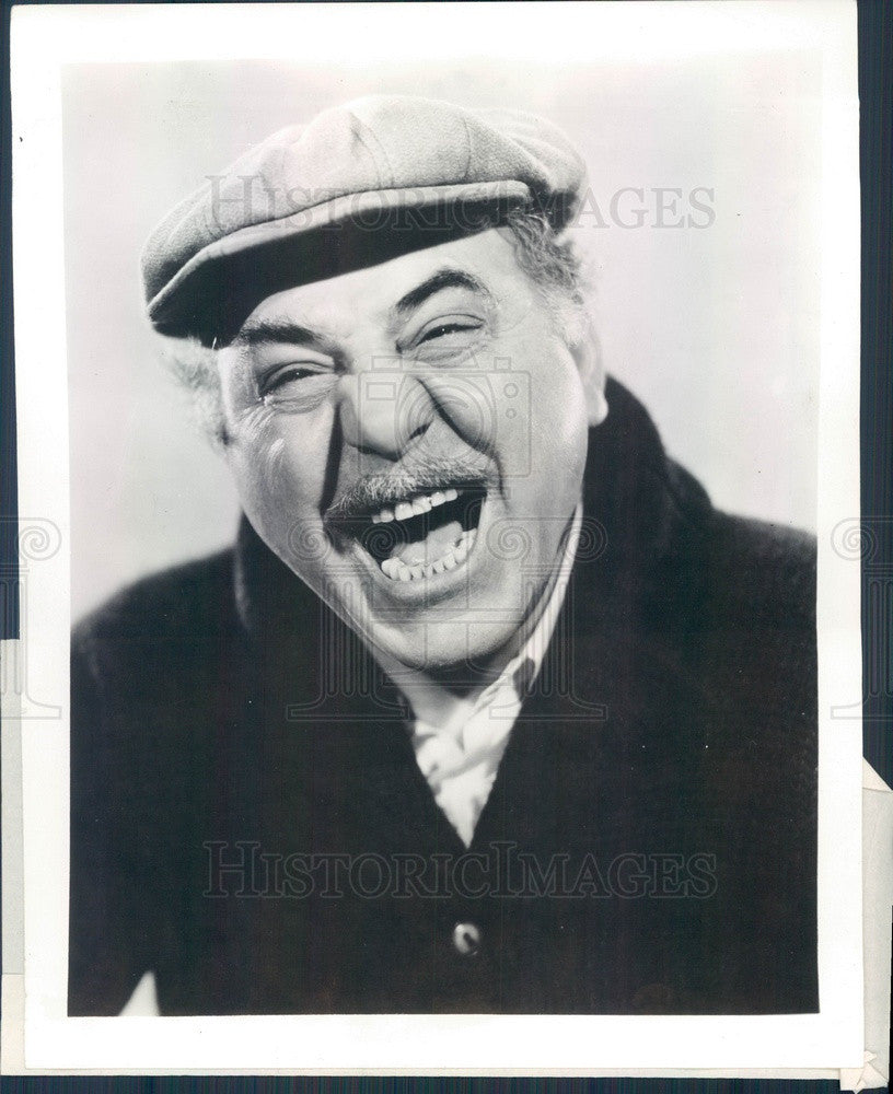 Undated Italian Hollywood Movie Star/Actor Comedian Henry Armetta Press Photo - Historic Images