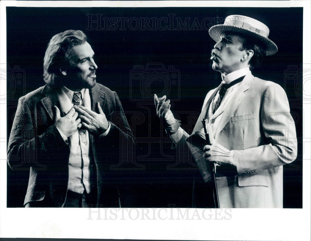 1991 Chicago, Illinois Lyric Opera Jacque Trussel & Robert Orth Press Photo - Historic Images