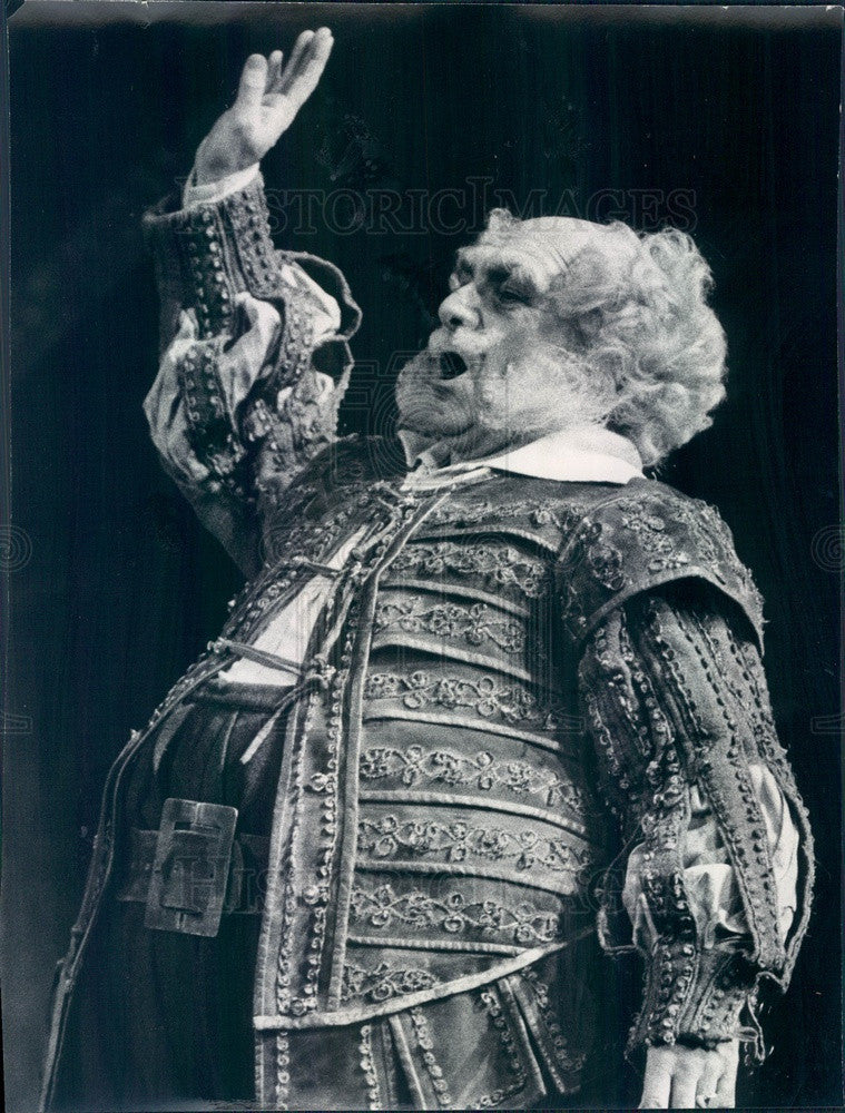 1974 Chicago, Illinois Scene from Opera Falstaff Press Photo - Historic Images