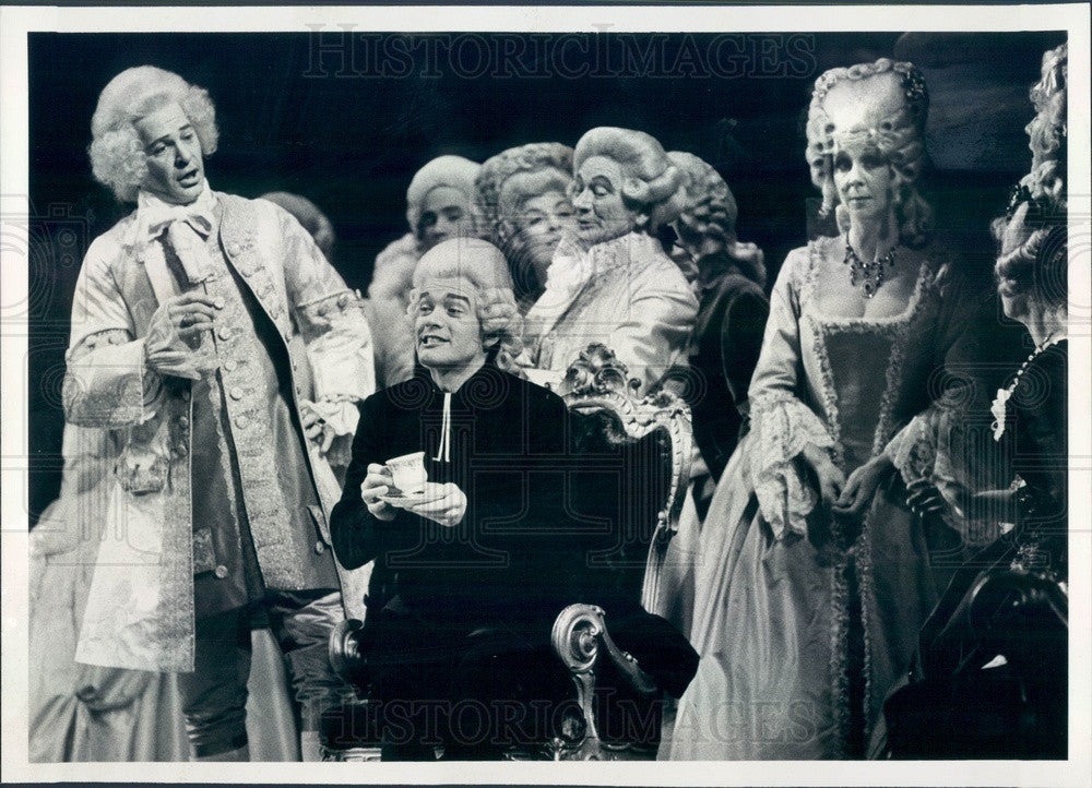 1979 Chicago, Illinois Lyric Opera James Schwisow in Andrea Chenier Press Photo - Historic Images