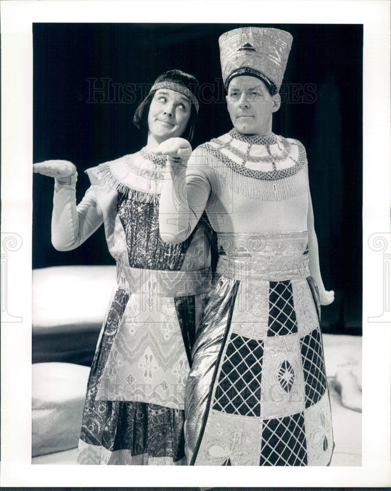 1991 Actors Terry James & Jonathan Weir Press Photo - Historic Images
