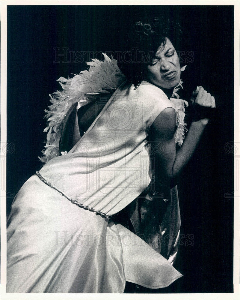 1985 Actress Rhonda Ward in In the House of Blues Press Photo - Historic Images