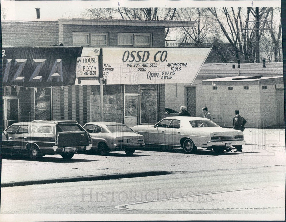 1976 Chicago, Illinois OSSD Discount Store, FBI Fencing Operation Press Photo - Historic Images
