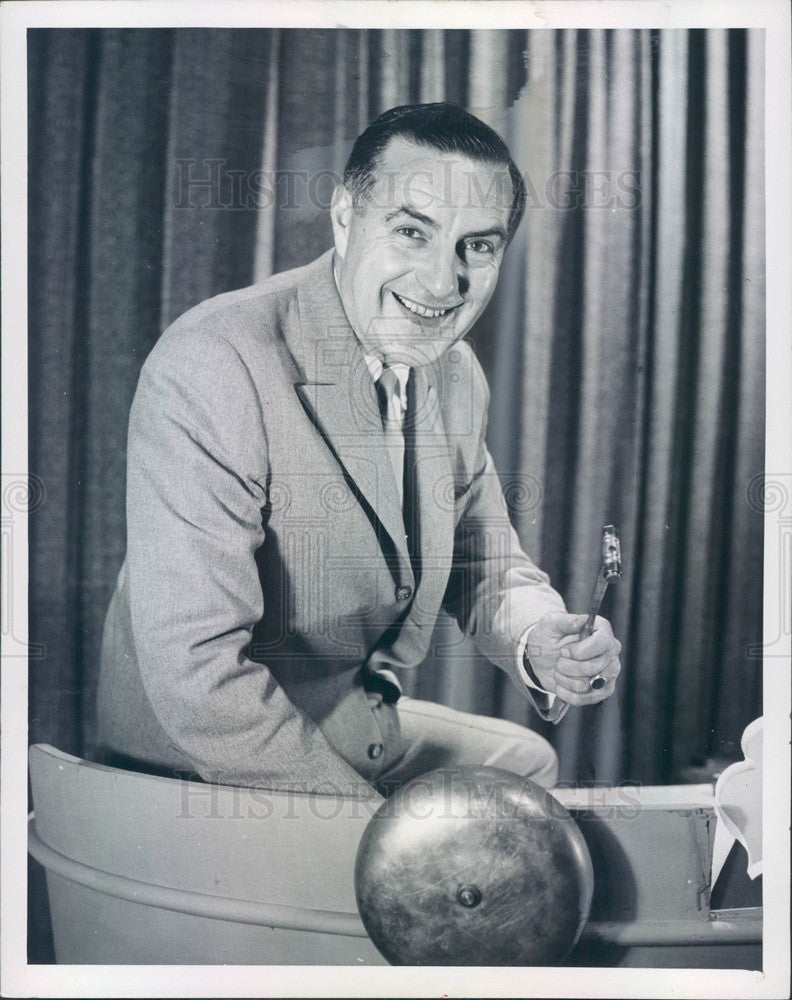 1957 Radio & TV Host Ted Mack Press Photo - Historic Images