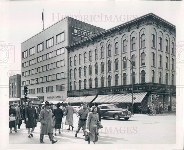 Undated Chicago, Illinois Michigan Avenue Press Photo - Historic Images