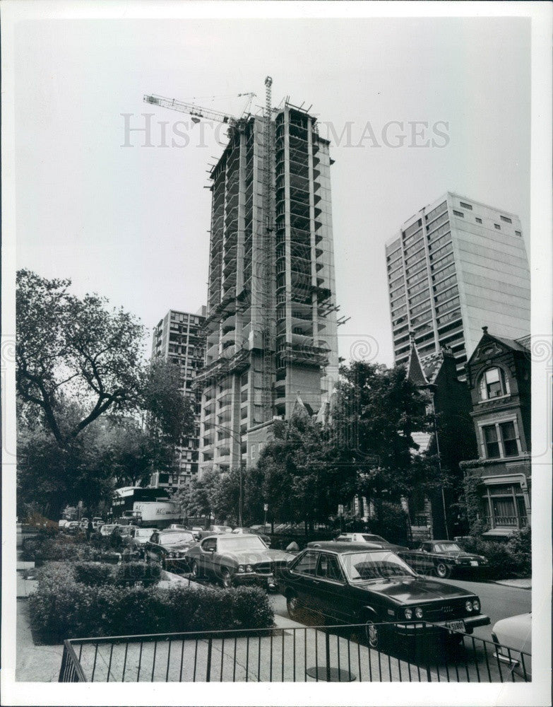 1980 Chicago, Illinois N State Parkway Condominiums Press Photo - Historic Images