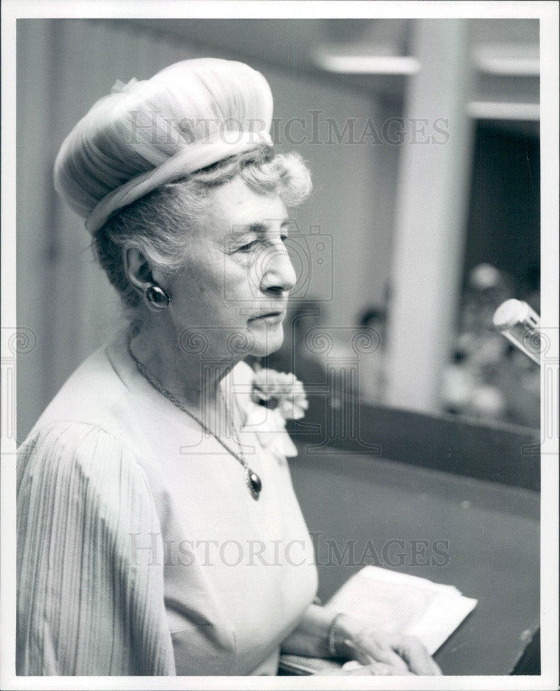 1967 Detroit, Michigan Detroit News Poet Anne Campbell Press Photo - Historic Images