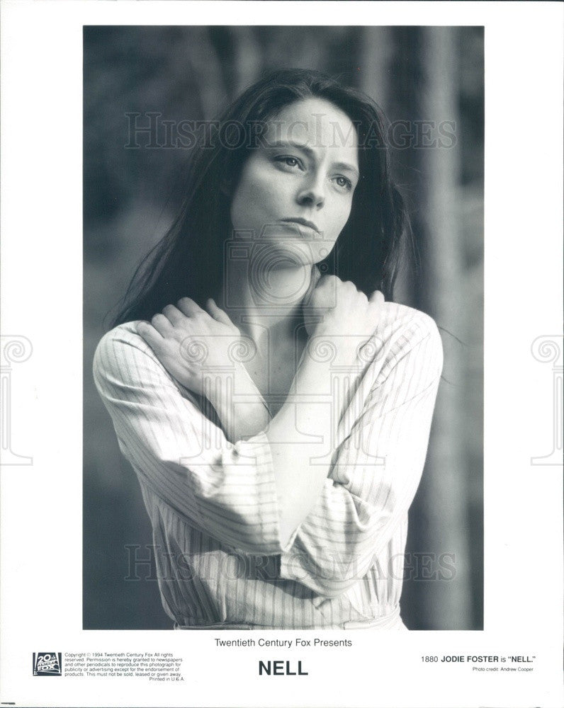 1996 American Hollywood Actress Jodie Foster Press Photo - Historic Images