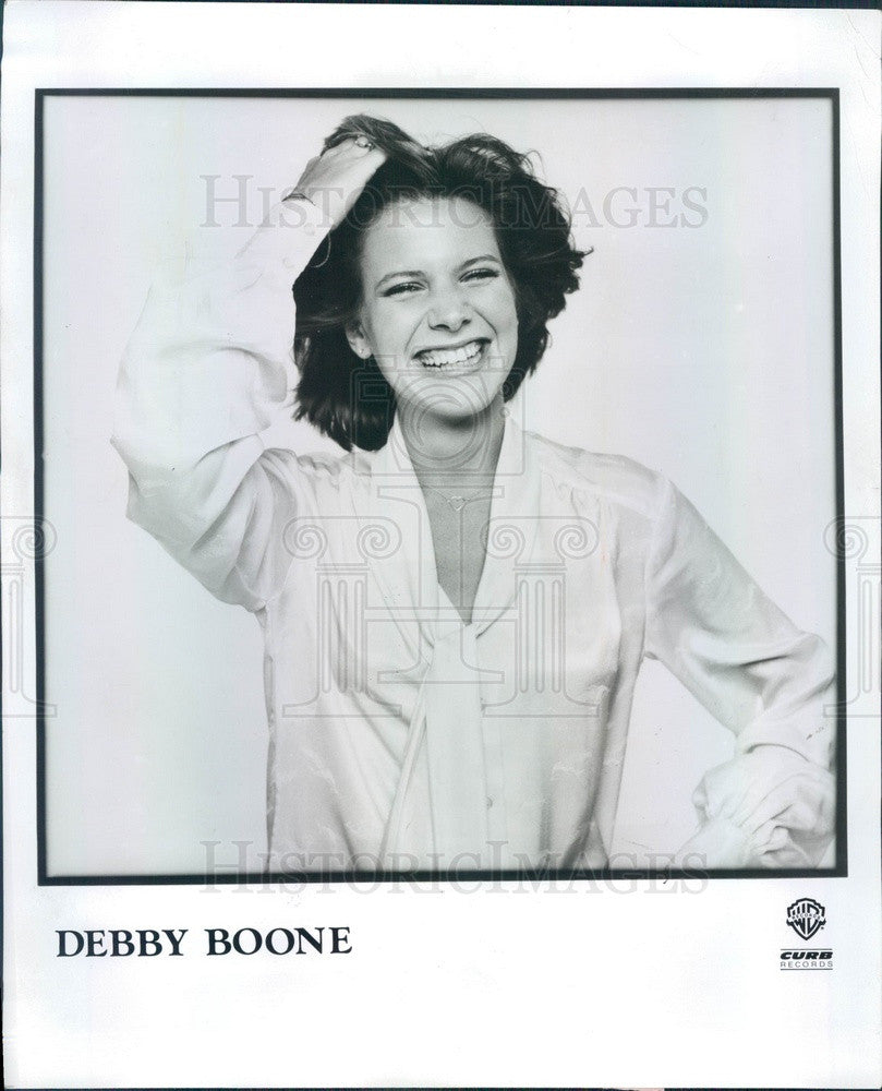1977 American Hollywood Singer/Actress Debby Boone Press Photo - Historic Images