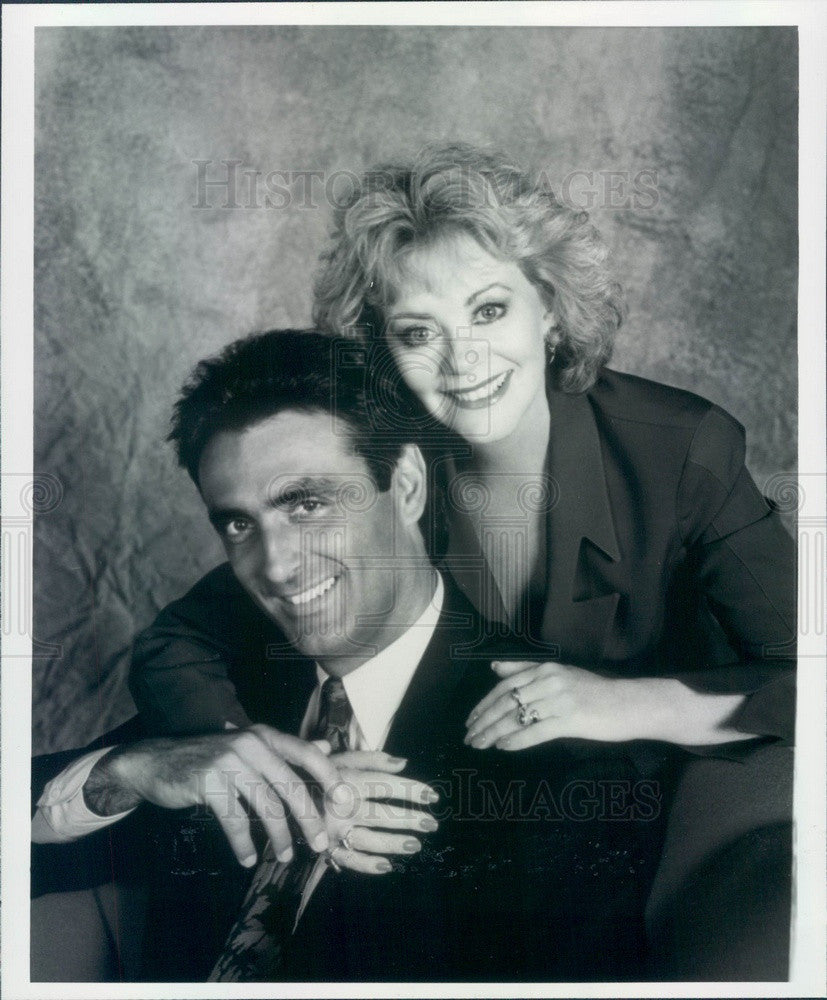 1993 American Hollywood Actors Kathleen Noone & Lorenzo Caccialanza Press Photo - Historic Images