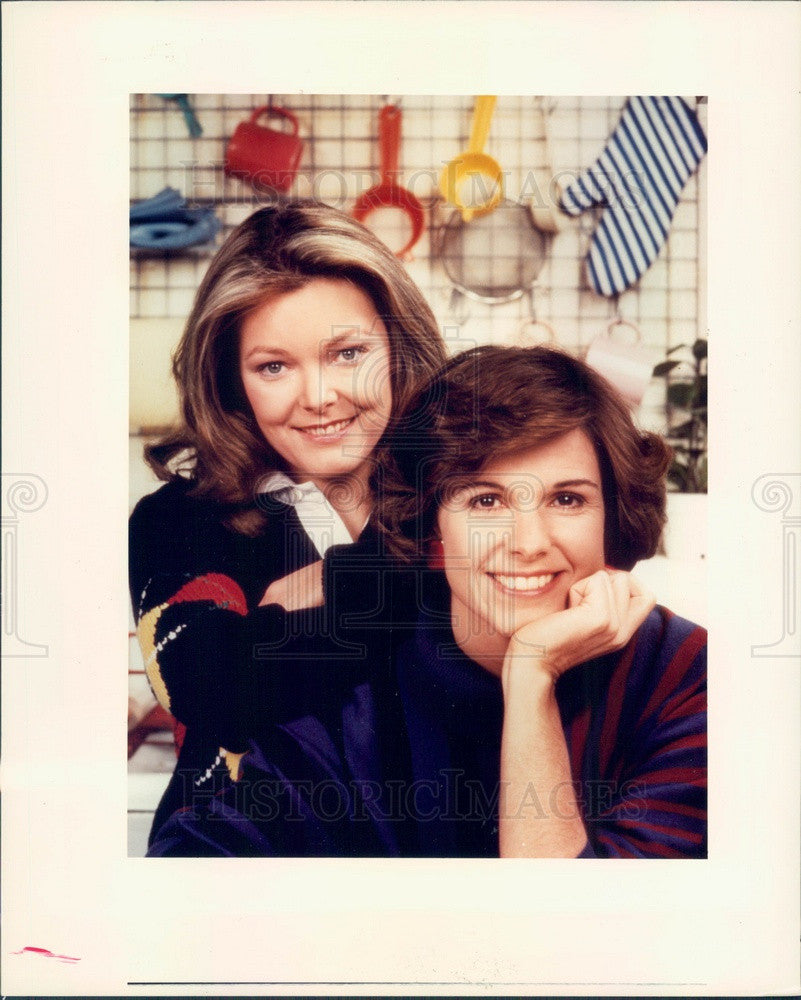 1984 Hollywood Actors/Movie Stars Jane Curtin & Susan Saint James Press Photo - Historic Images