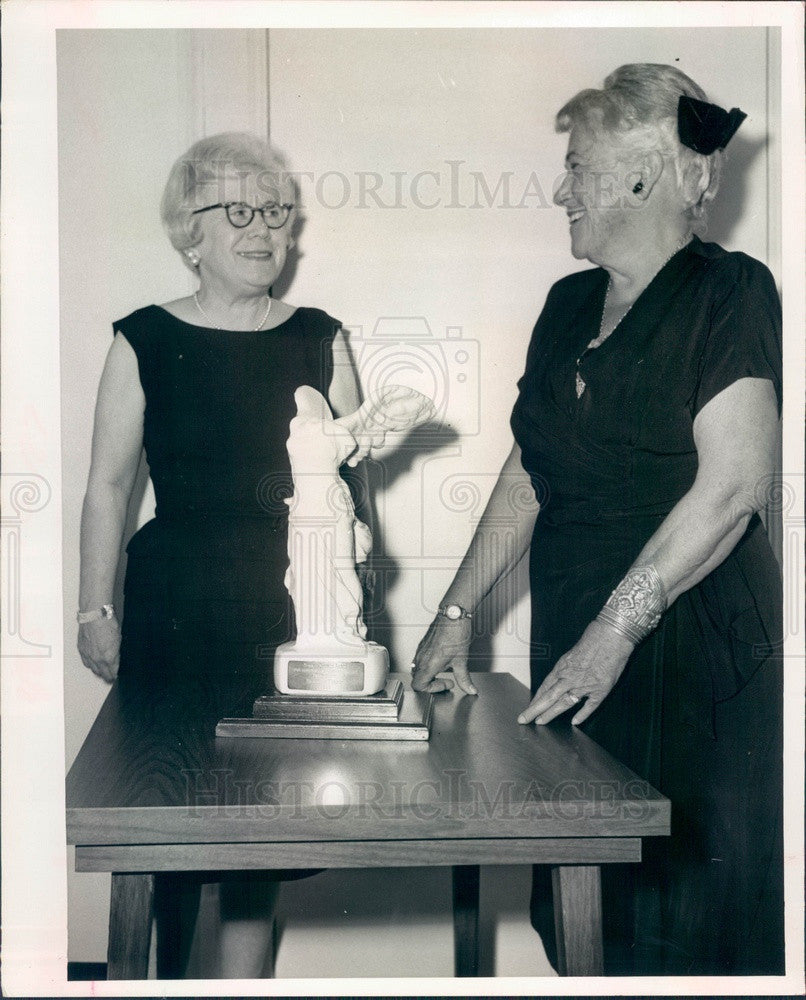 1966 Clearwater, Florida Business and Professional Women's Club Press Photo - Historic Images