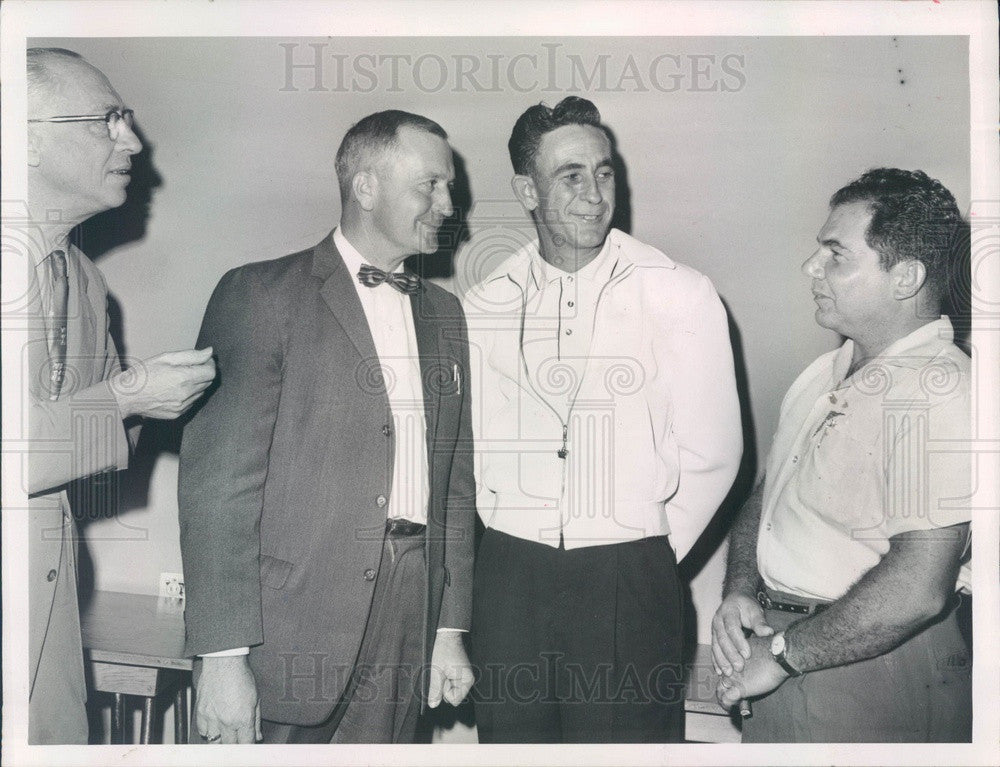 1962 Tarpon Springs, Florida Business and Professional Assn Officers Press Photo - Historic Images