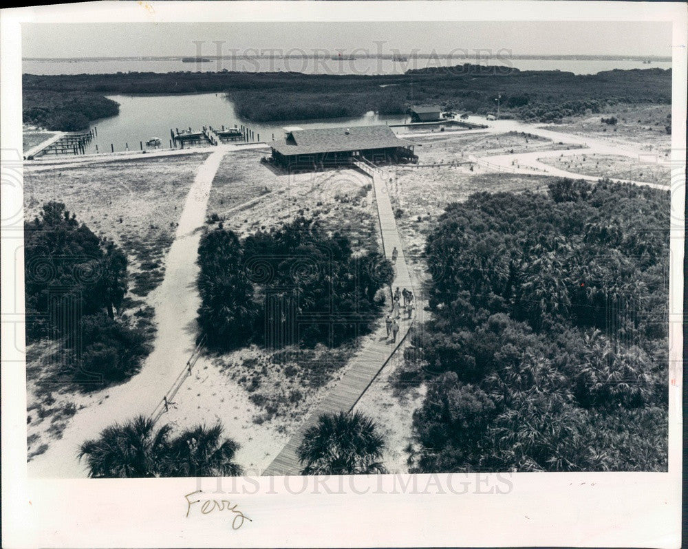 1978 Pinellas County, Florida Caladesi Island Aerial View Press Photo - Historic Images