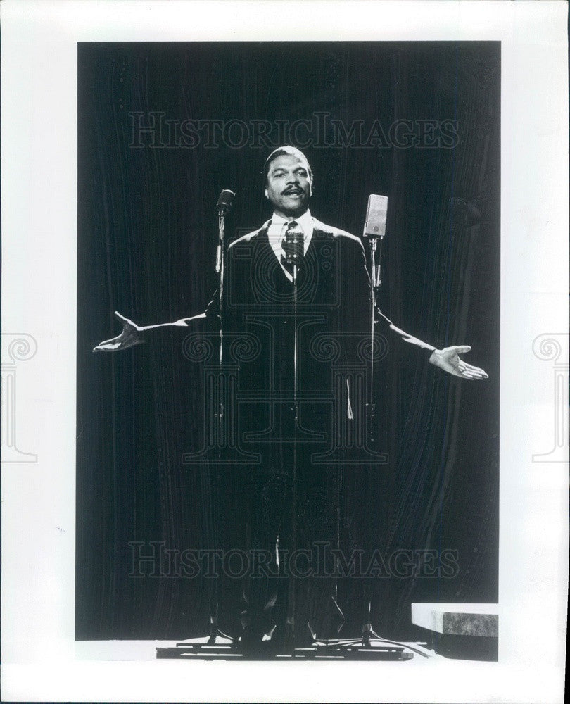 1976 American Hollywood Actor Billy Dee Williams in I Have a Dream Press Photo - Historic Images