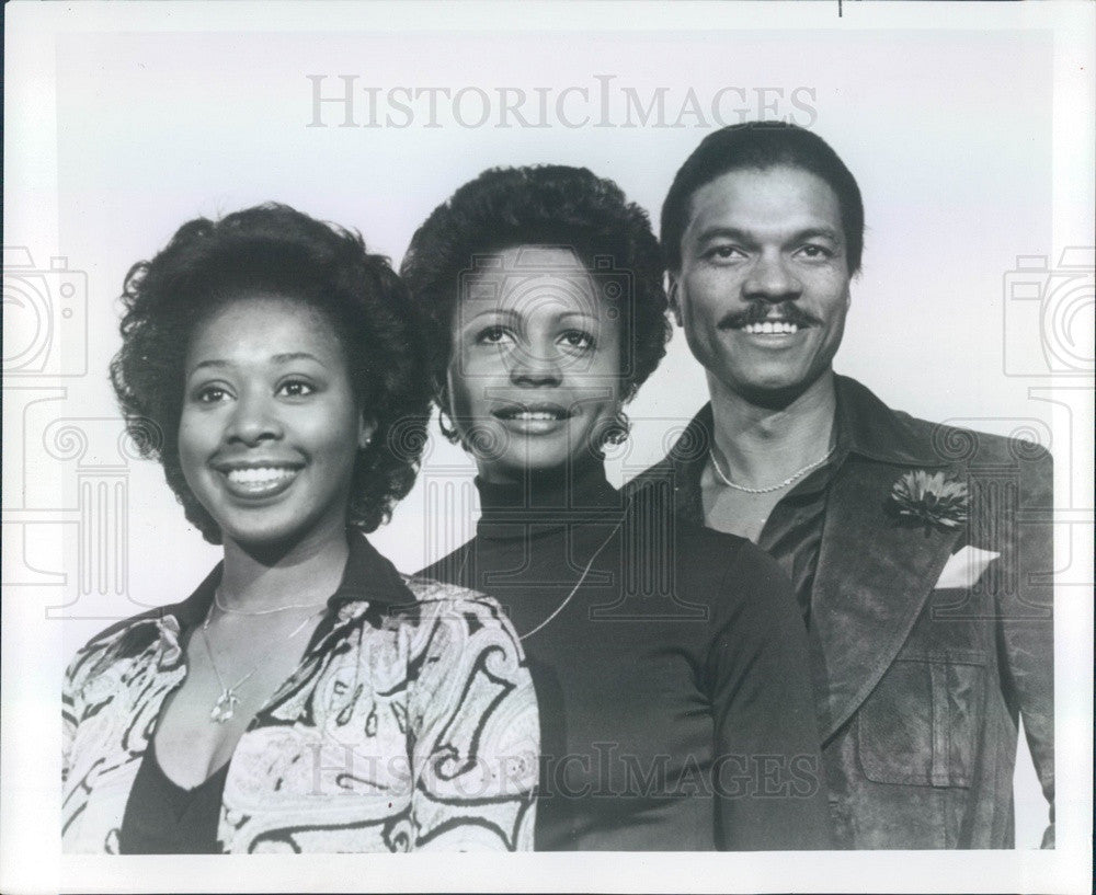 1976 Hollywood Actors Billy Dee Williams Judyann Elder Marion Ramsey P Historic Images