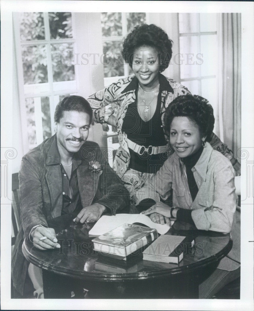 1976 Hollywood Actors Billy Dee Williams/Judyann Elder/Marion Ramsey Press Photo - Historic Images