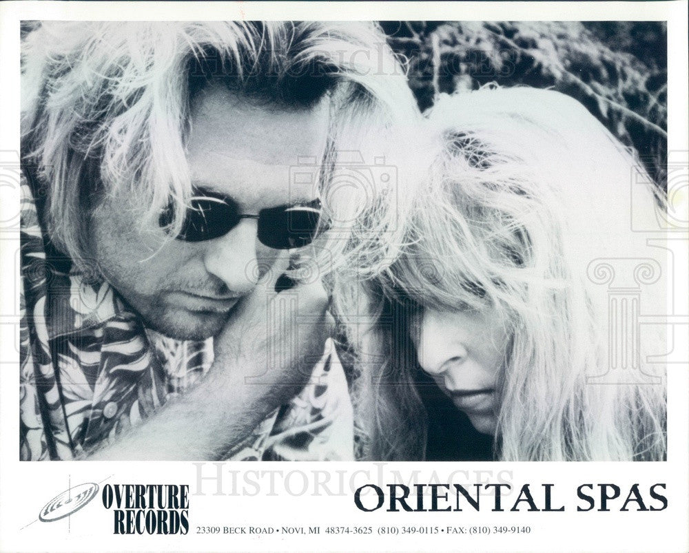 1995 Rock Band Oriental Spas Press Photo - Historic Images