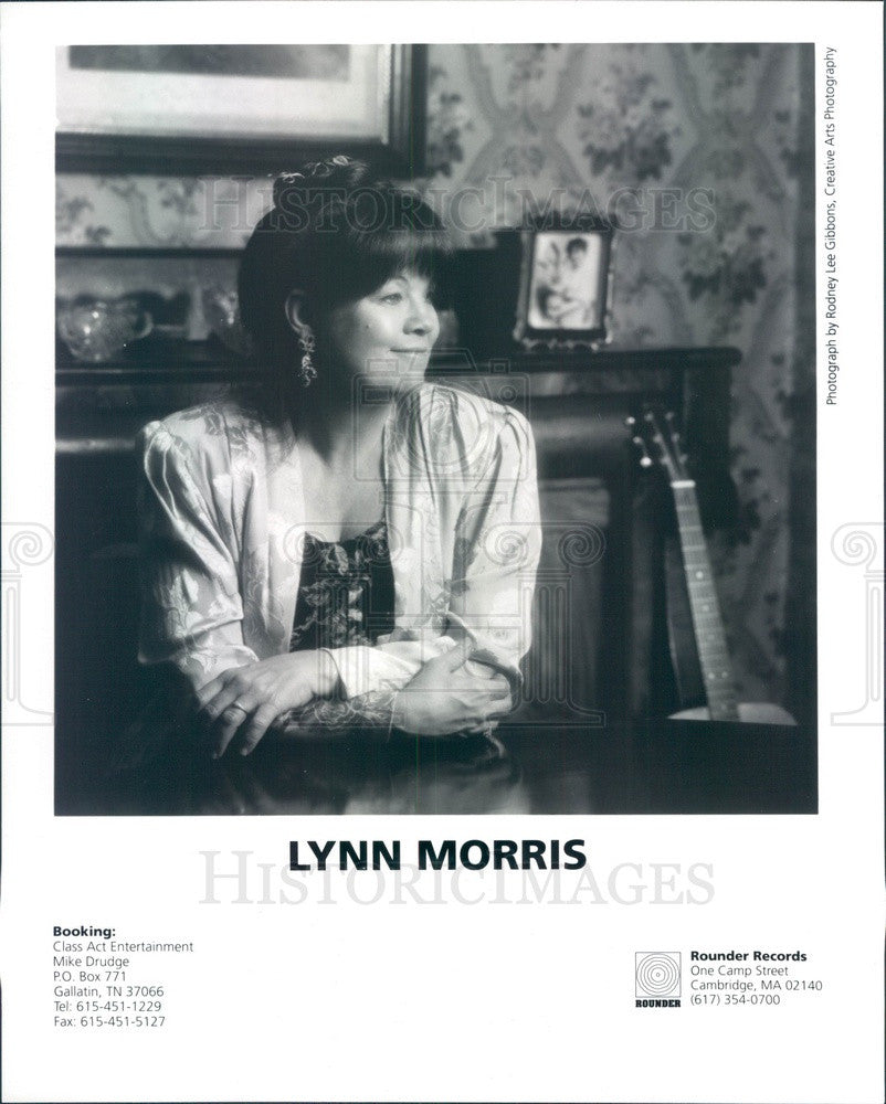 1996 American Bluegrass Musician Lynn Morris Press Photo - Historic Images