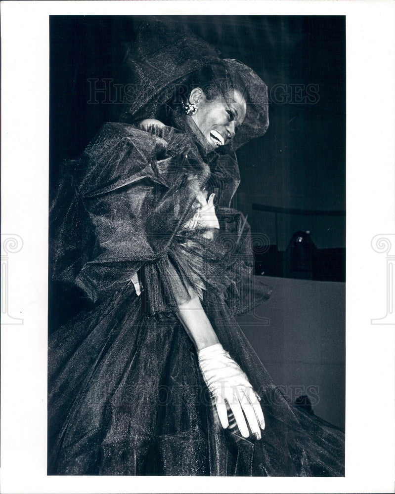 1981 American Hollywood Actress Cicely Tyson Press Photo - Historic Images