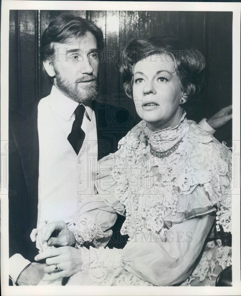 1968 Broadway Actors Donald Moffat & Uta Hagen in The Cherry Orchard Press Photo - Historic Images