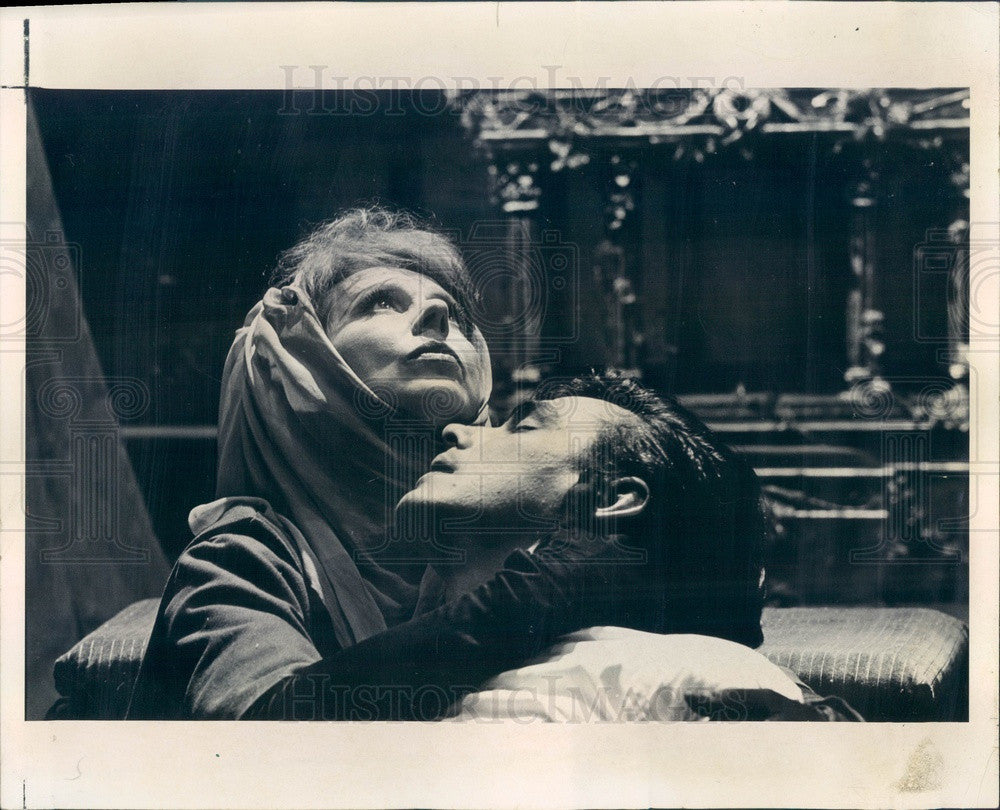 1966 Actors DeAnn Mears & Paul Shenar in Tiny Alice Press Photo - Historic Images