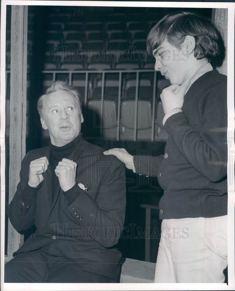 1965 Hollywood Actor Van Johnson & Doug Chapin in A Thousand Clowns Press Photo - Historic Images